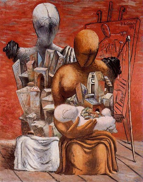 The painter's family, 1926 - Giorgio de Chirico