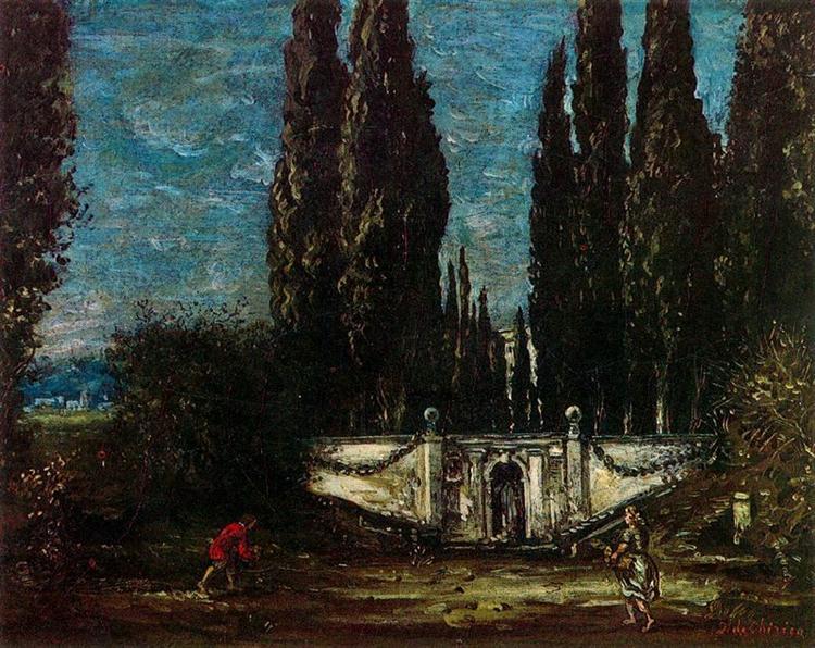 Villa Falconieri - Giorgio de Chirico