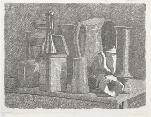 Grande natura morta con la caffettiera - Giorgio Morandi