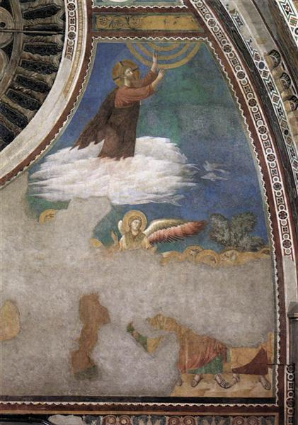 Ascension of Christ, c.1300 - Giotto