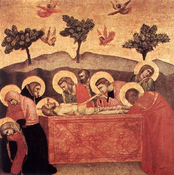 Entombment, c.1320 - c.1325 - Giotto