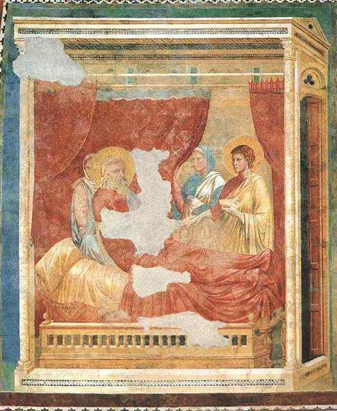 Isaac Blessing Jacob, c.1290 - Giotto di Bondone