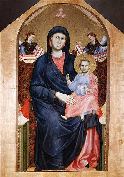Madonna and Child, c.1295 - c.1300 - Giotto