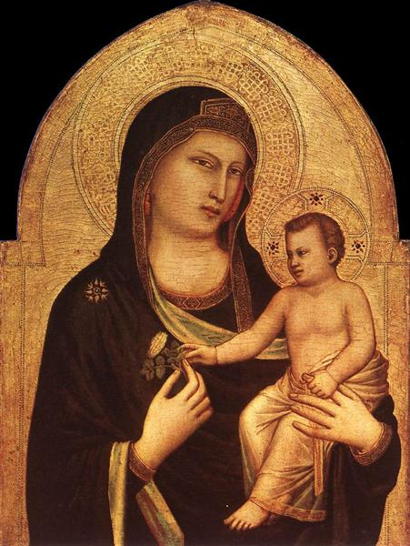 Madonna and Child, c.1320 - c.1330 - Giotto