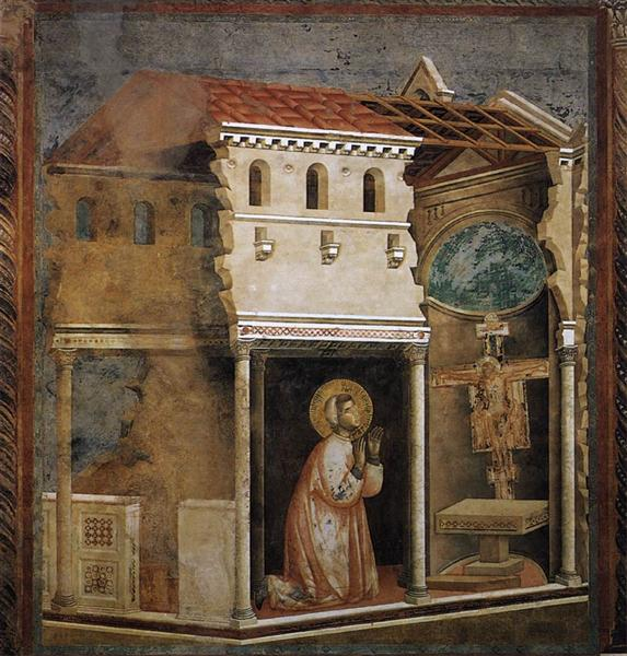 Miracle of the Crucifix, 1297 - 1299 - Giotto