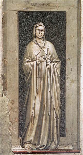Temperance, 1306 - Giotto