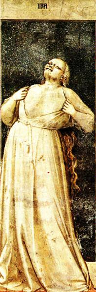 Wrath, 1306 - Giotto