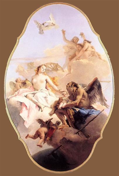 An Allegory with Venus and Time, 1754 - 1758 - Giovanni Battista Tiepolo