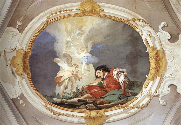 Jacob's Dream, 1726 - 1729 - Giovanni Battista Tiepolo