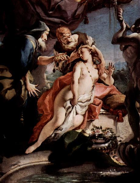 Susanna and the Elders, 1722 - 1723 - Giovanni Battista Tiepolo