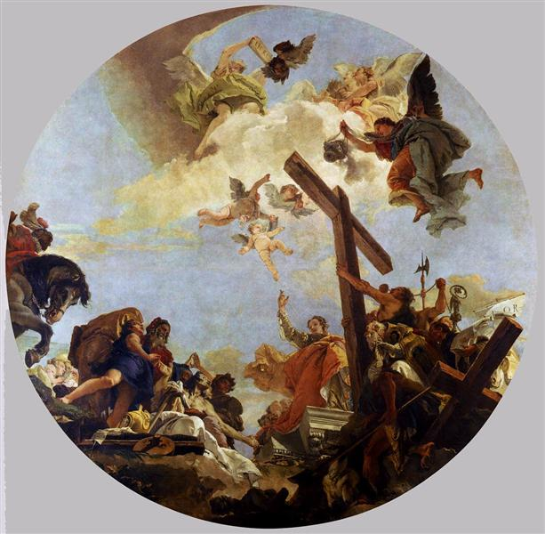 The Discovery of the True Cross and St. Helena, c.1745 - Giovanni Battista Tiepolo