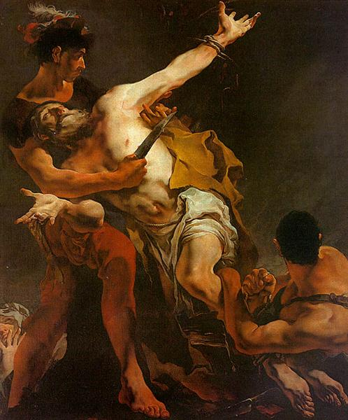 The Martyrdom of St. Bartholomew, 1722 - Giovanni Battista Tiepolo