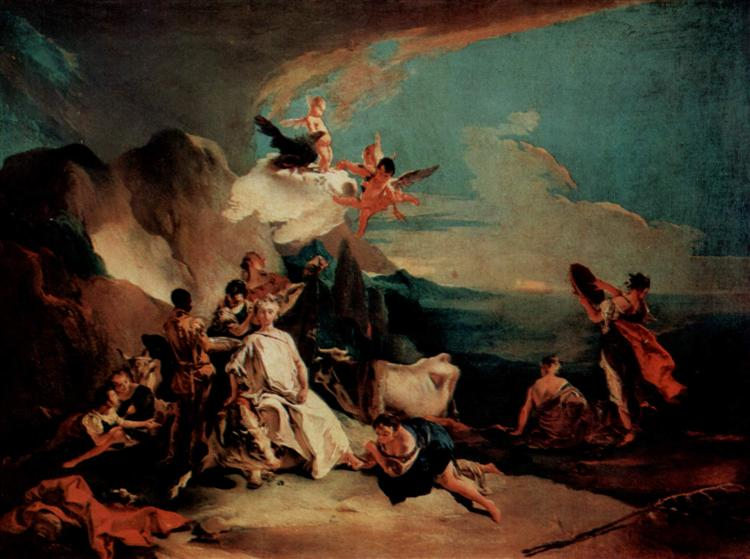 The Rape of Europa, c.1720 - c.1722 - Giovanni Battista Tiepolo