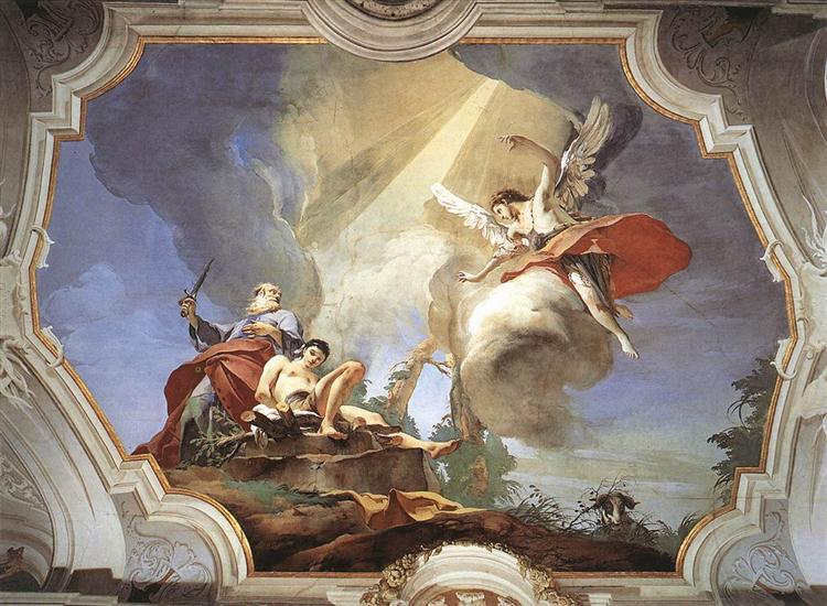 The Sacrifice of Isaac, 1726 - 1729 - Giovanni Battista Tiepolo
