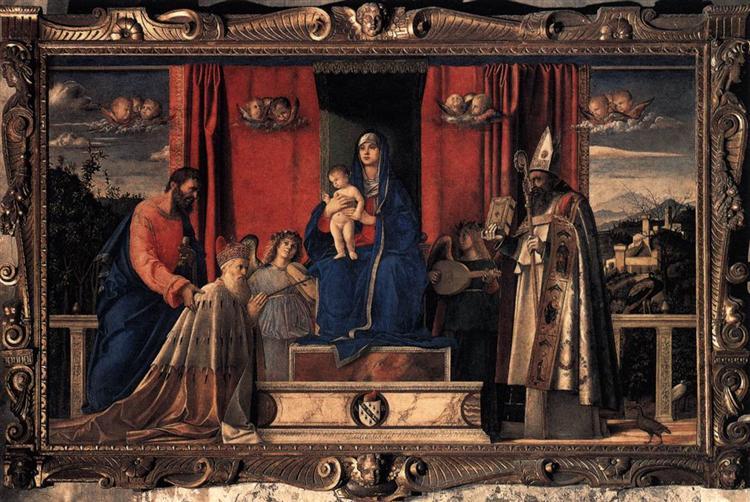 Barbarigo Altarpiece, 1488 - Giovanni Bellini