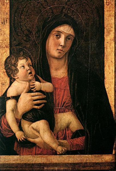 Madonna with Child, c.1475 - Giovanni Bellini