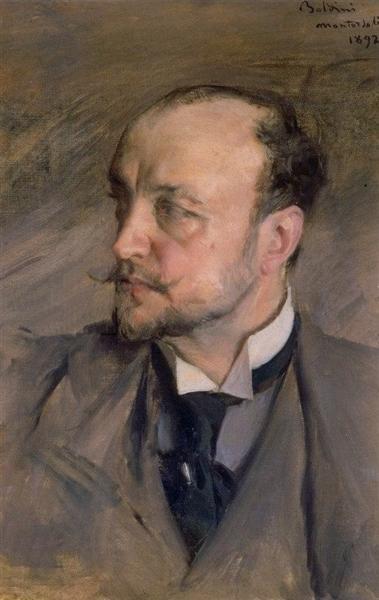 Self Portrait, 1892 - Giovanni Boldini