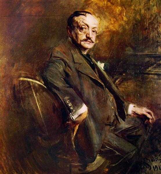 Self Portrait, 1911 - Giovanni Boldini