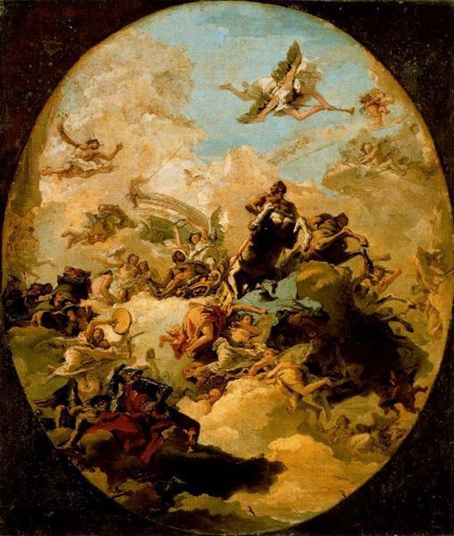 Apotheosis of Hercules, 1765 - Джованни Доменико Тьеполо