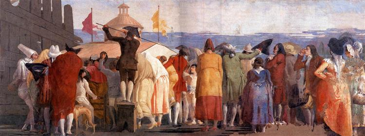 The New World, 1791 - 1797 - Giovanni Domenico Tiepolo