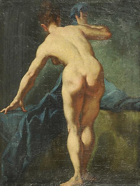 Nudo femminile - Giulia Lama