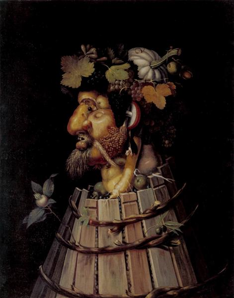Autumn, 1572 - Giuseppe Arcimboldo