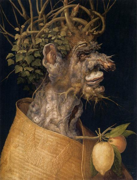 Winter, 1563 - Giuseppe Arcimboldo
