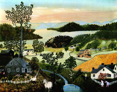 A Beautiful World - Grandma Moses