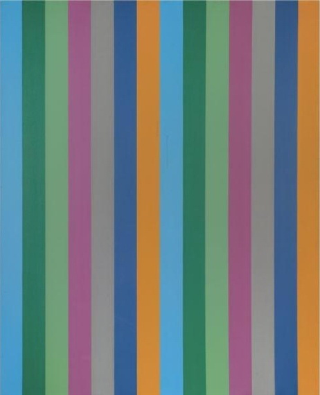 Seriel bleu-ocre, 1967 - Guido Molinari