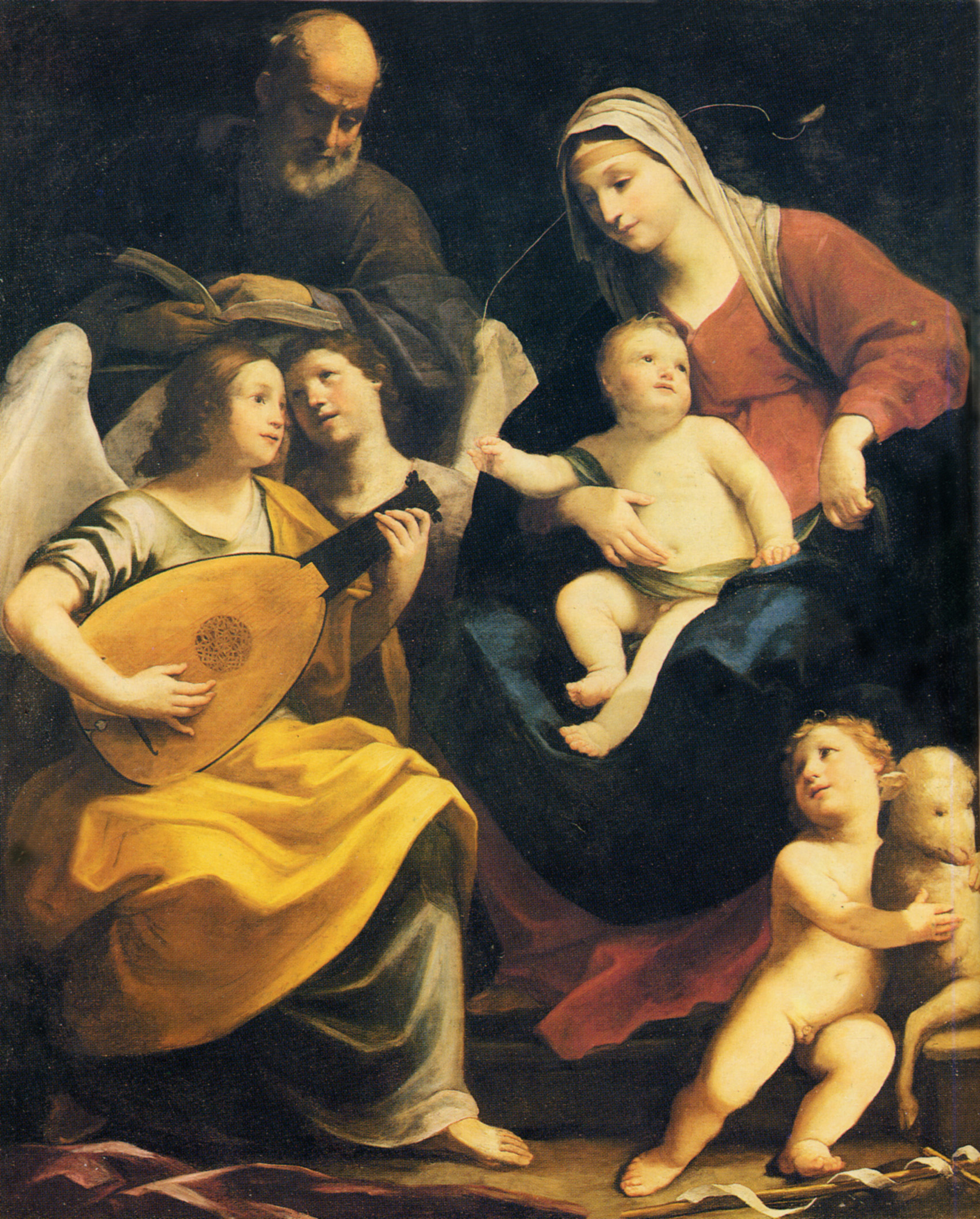 Guido Reni - Page 2 Holy-family-1642
