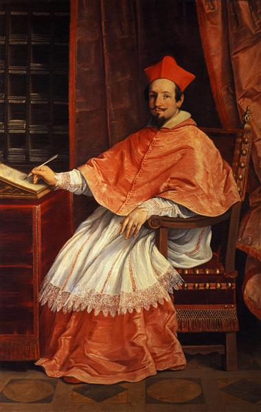 Portrait of Cardinal Bernardino Spada, 1631 - Guido Reni