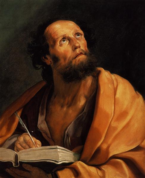 Saint Luke, 1621 - Гвидо Рени