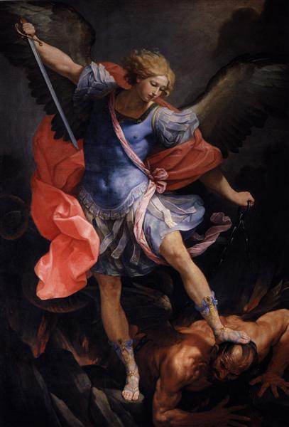 The Archangel Michael defeating Satan - Reni Guido