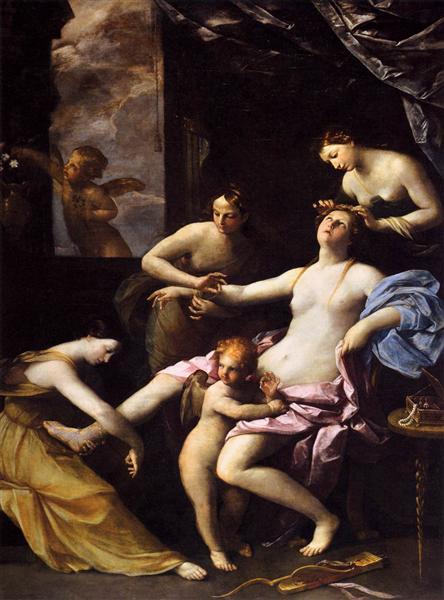 La Venus del espejo - Reni Guido