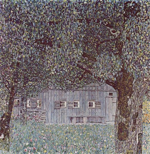 Farmhouse in Upper Austria - Klimt Gustav