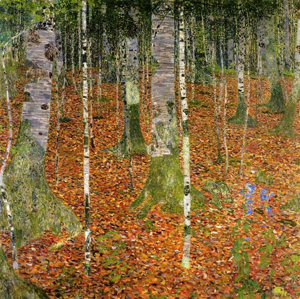 Farmhouse with Birch Trees, 1903 - Gustav Klimt