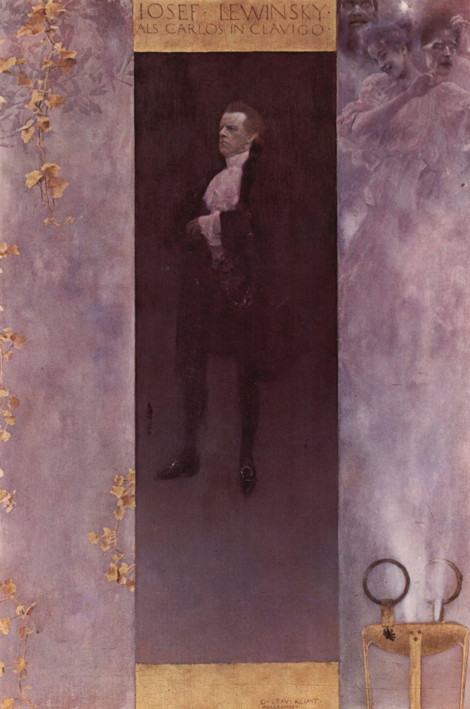 Josef Lewinsky, 1895
