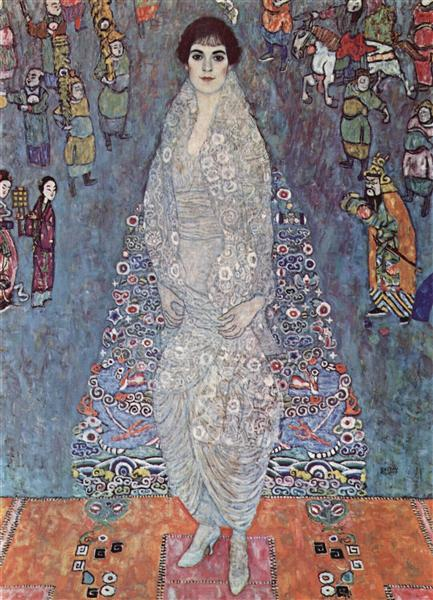 Portrait of Baroness Elisabeth Bachofen-Echt, 1914 - 1916 - Gustav Klimt