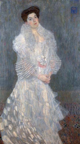 Portrait of Hermine Gallia, 1904 - Gustav Klimt