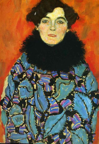 Portrait of Johanna Staude, 1917 - 1918 - Gustav Klimt