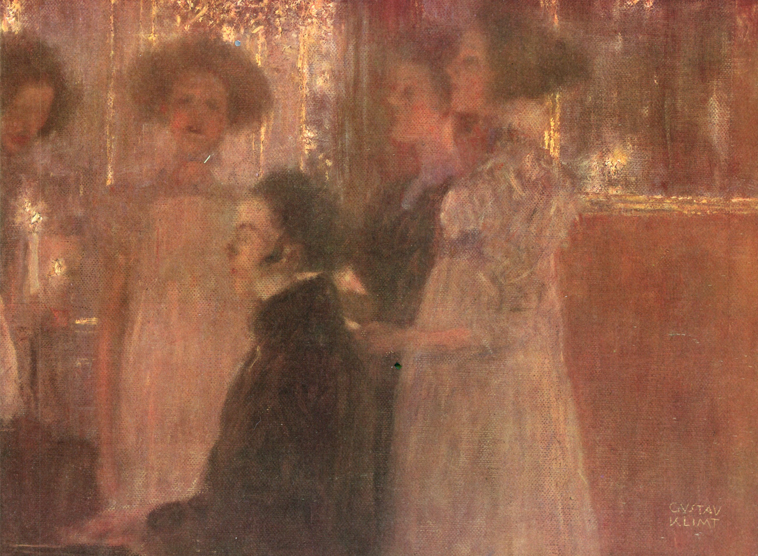 Schubert at the piano I, 1896