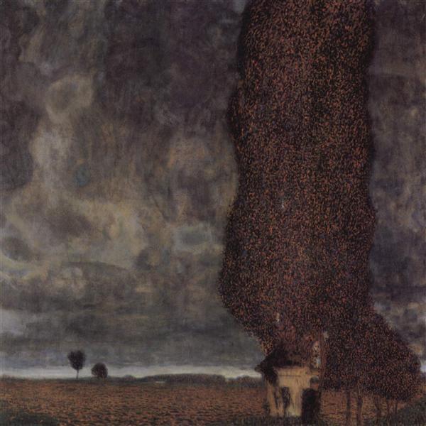 The Big Poplar II, 1902 - 1903 - Gustav Klimt