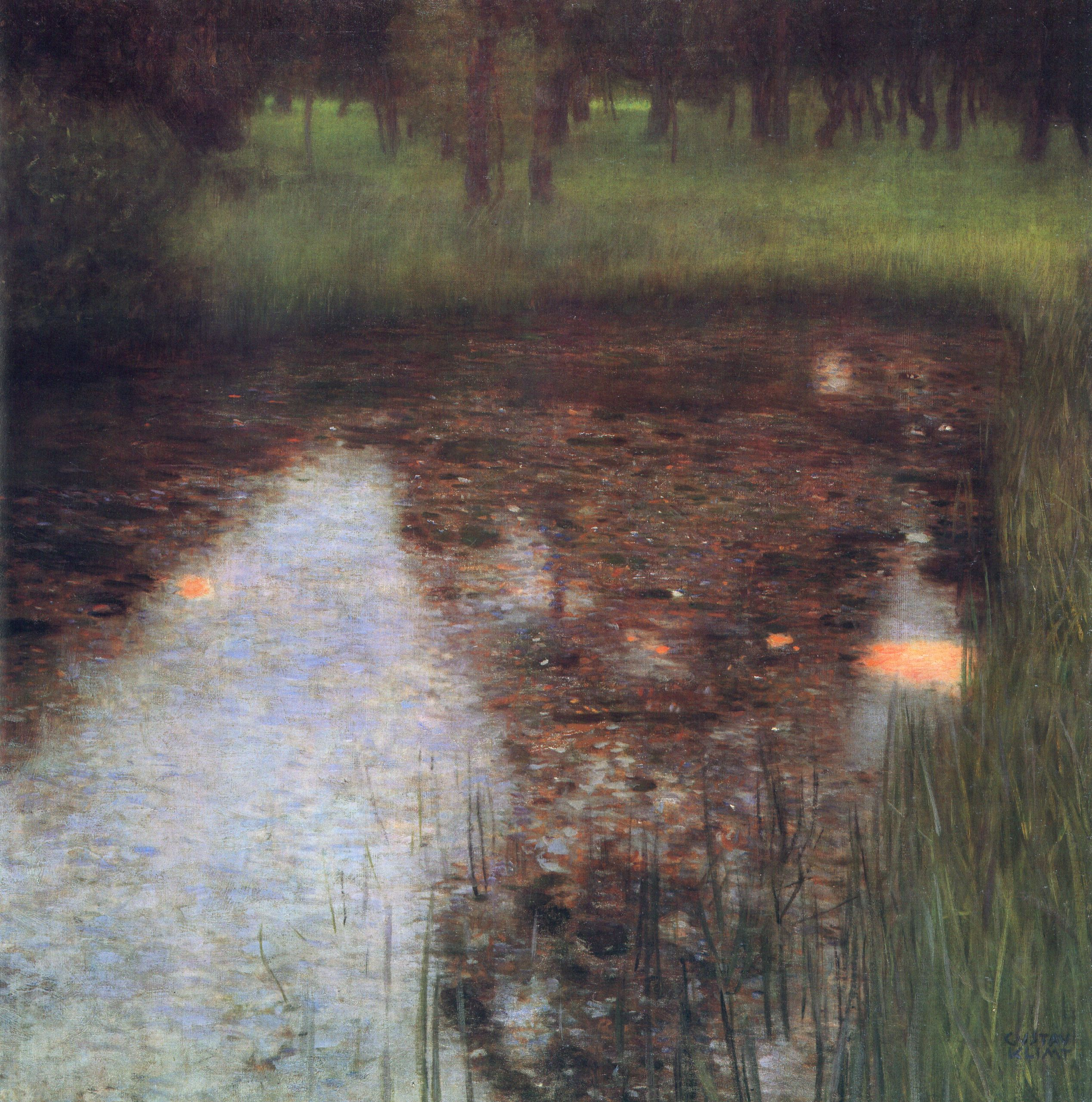 The Swamp, 1900