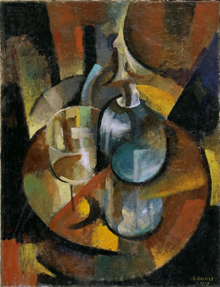 Glass and Carafe, 1919 - Gustave Buchet