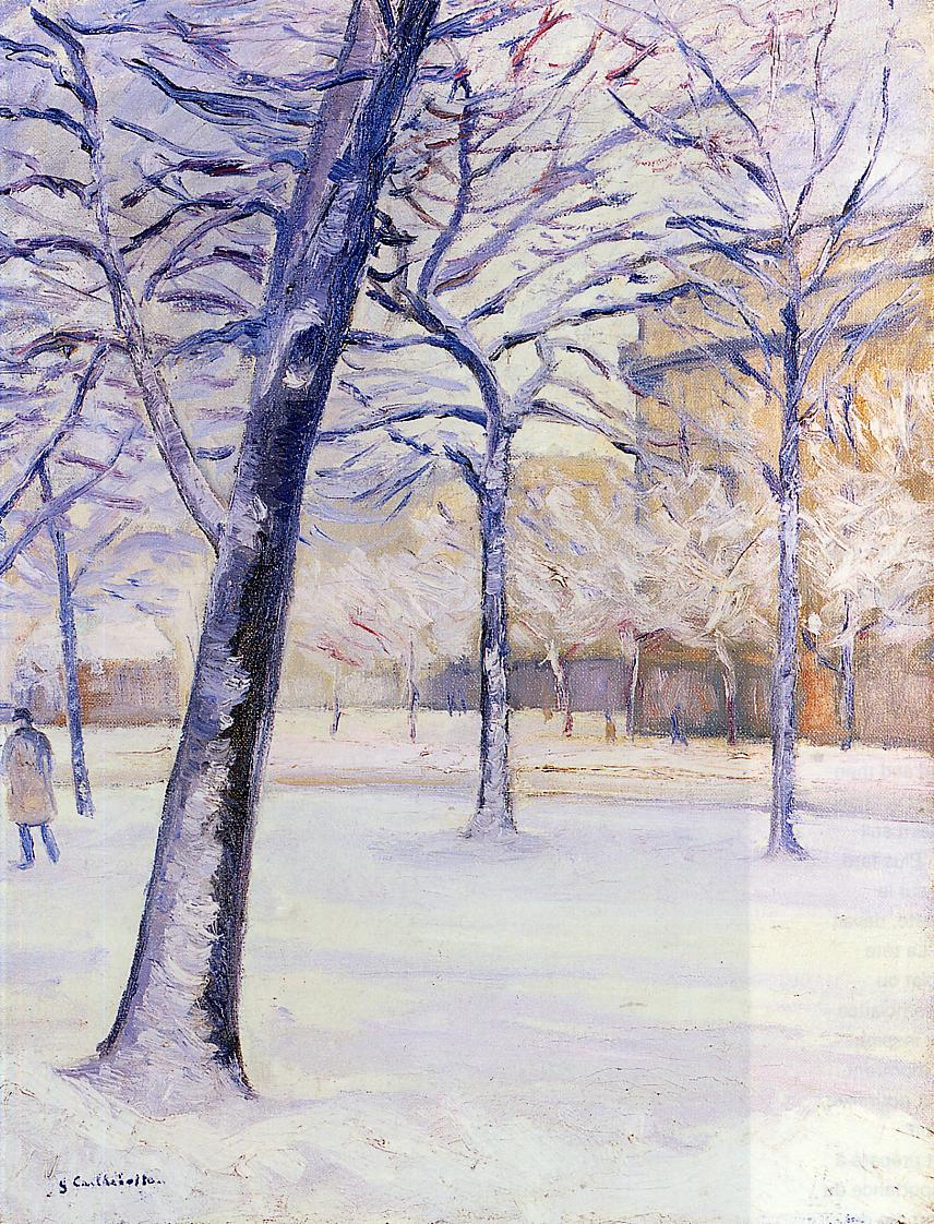 Park in the Snow, 1888