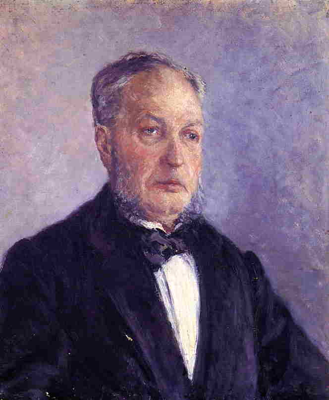 Portrait of Jean Daurelle, 1885