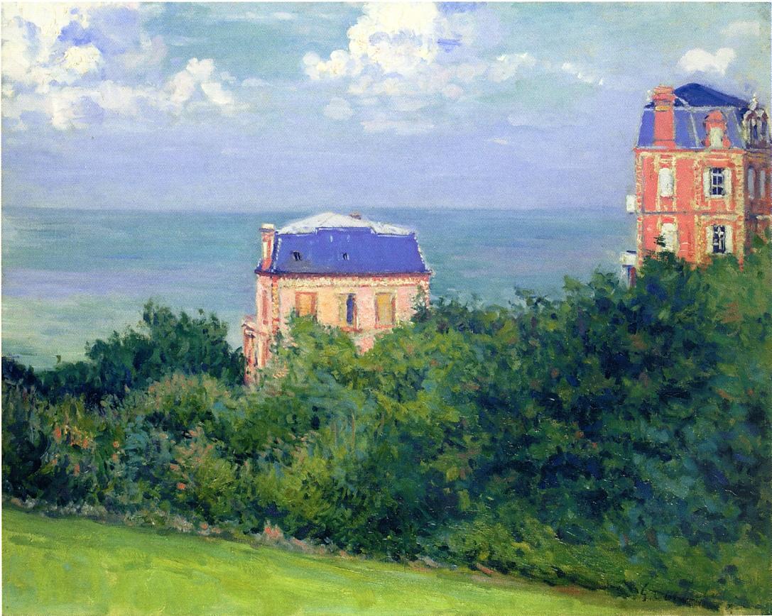 Villas at Villers sur Mer, 1880