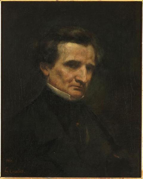 Hector Berlioz, 1850 - Gustave Courbet