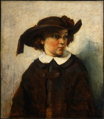 Portrait of a Young Girl, 1857 - Gustave Courbet