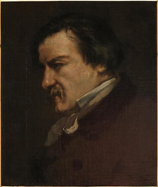Portrait of Champfleury, 1855 - Gustave Courbet